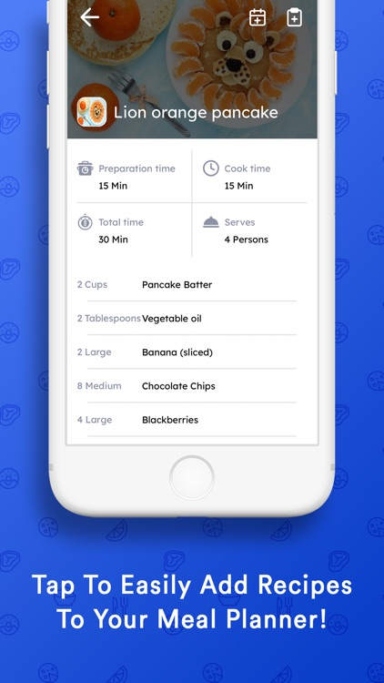 MealTastic II - Meal Planner screenshot-1