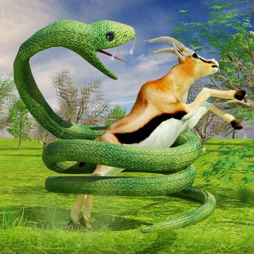Анаконда Змея - Охота и атака