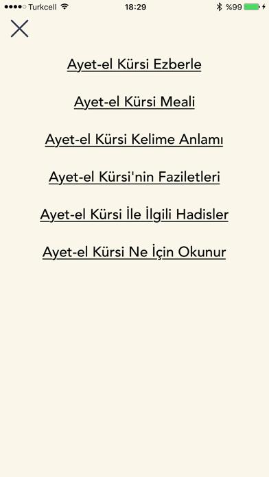 Ayetel Kürsi Duası screenshot three