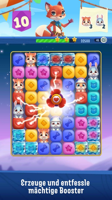 Screenshot for Pet Rescue Puzzle Saga in Germany App Store
