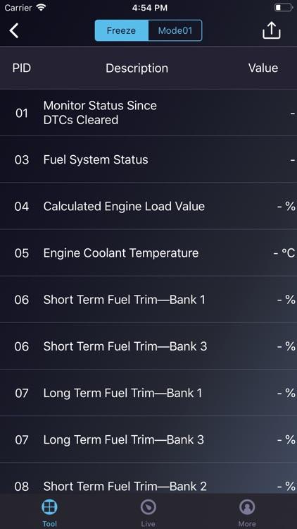 Dr.Driver OBD2 Pro Scan Tool screenshot-4