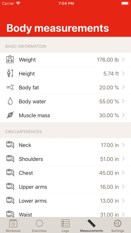 GymBook - Strength training screenshot-7