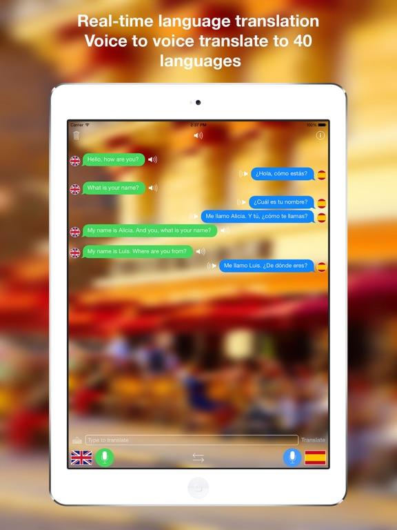 Voice Translator Live App Price Drops