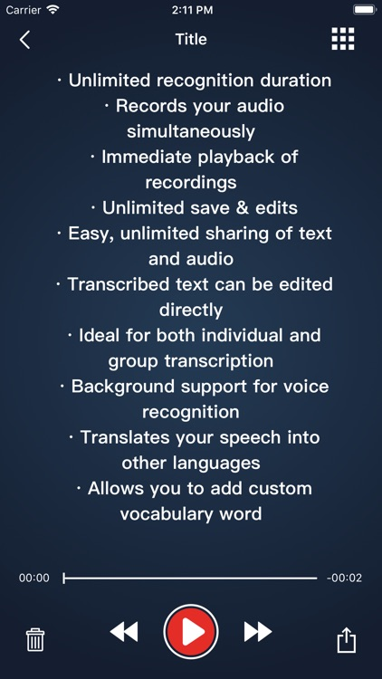 Voice Dictation - Speechy