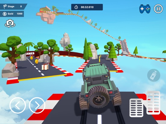 Car Stunts 3D - Sky Parkour screenshot 9