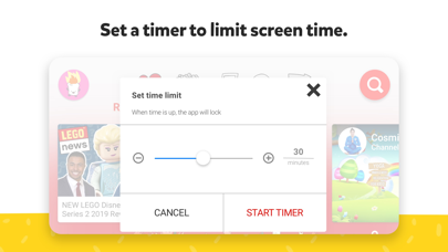 Screenshot for YouTube Kids in Belgium App Store