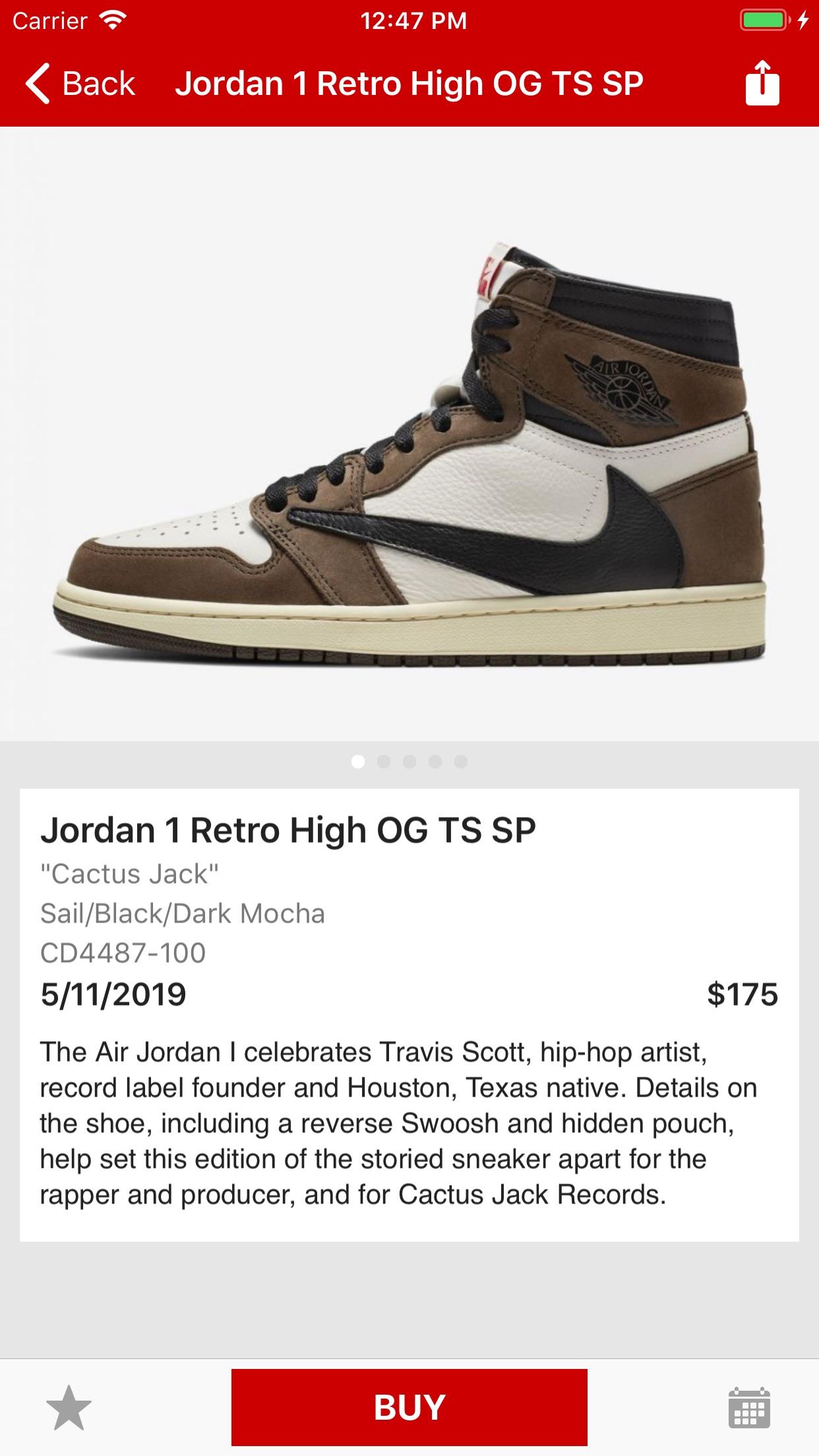 J23 - Release Dates & Restocks Screenshot
