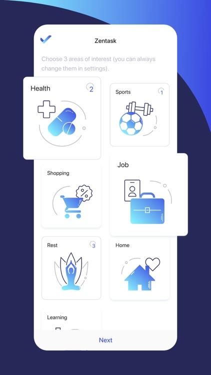 Zentask: Life at fingertips screenshot-3