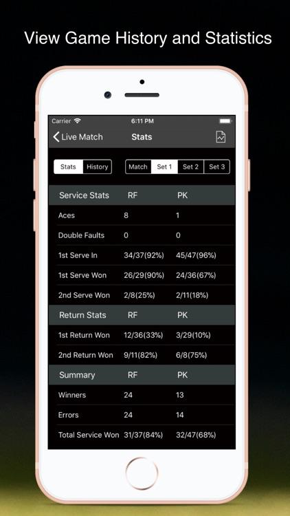 TennisKeeper: Swings & Scores screenshot-8