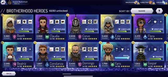 Mod Game Assassin's Creed Rebellion for iOS