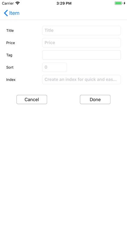TinyPOS Make & Track Receipts screenshot-5