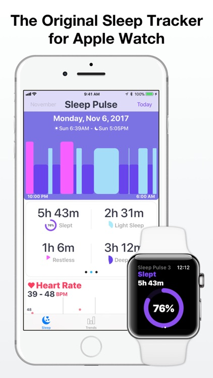 Sleep Tracker for Watch screenshot-0