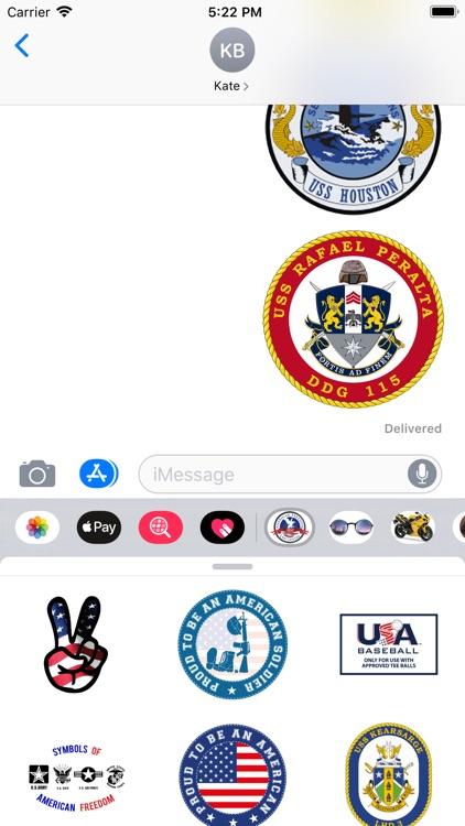 Stickers For Symbols USA screenshot-3