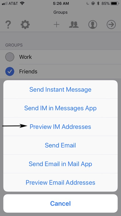 Courier - Group Messaging