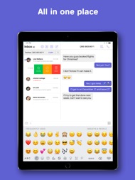 Text Free: Texting + Calling ipad images