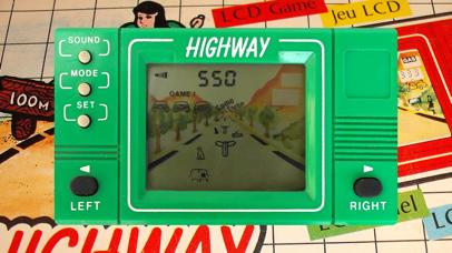 Highway LCD Retro game screenshot 3