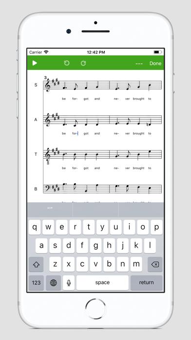Screenshot #2 pour Score Creator: faire musique