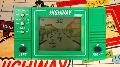 Highway LCD Retro game screenshot 2