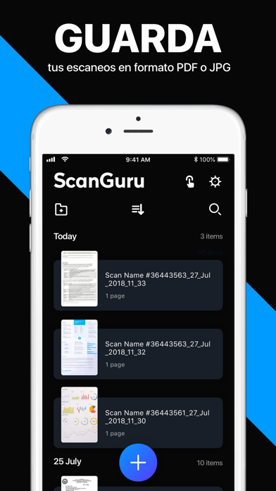 Screenshot for Scanner App: PDF Docs Scan in Mexico App Store