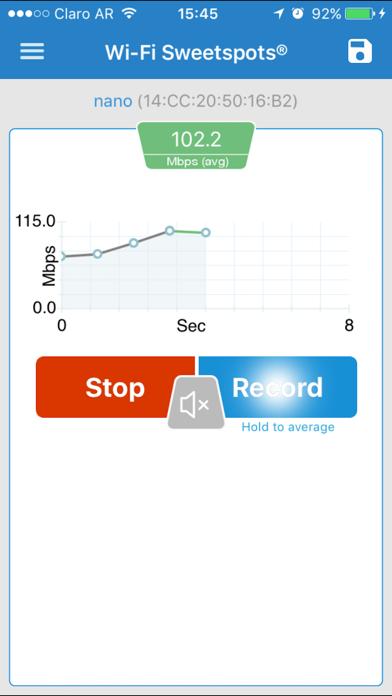 Wi-Fi SweetSpots screenshot