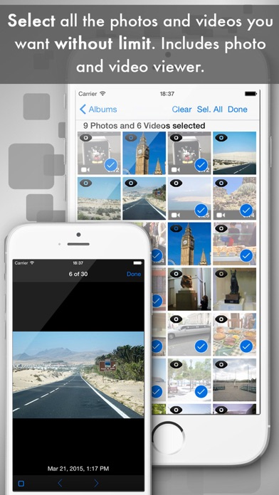 Easy Photo & Video Transfer Screenshots