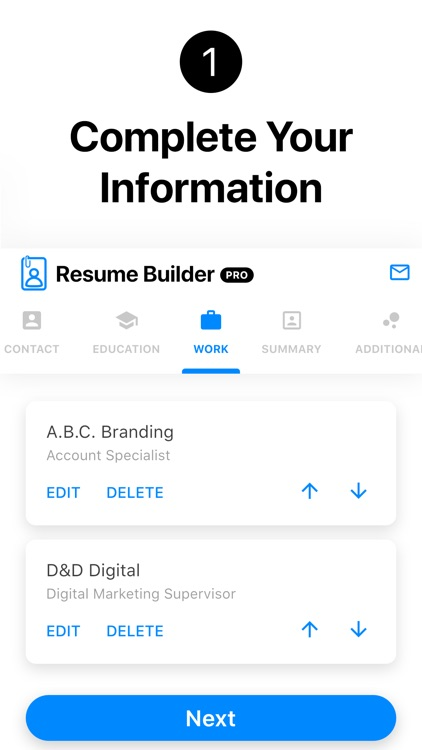 Resume Builder+ Professional
