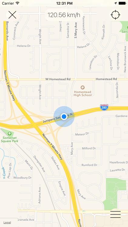 Speedometer [GPS] screenshot-3