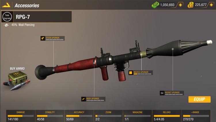Sniper 3D: Bullet Strike PvP screenshot-7