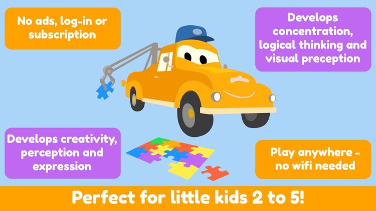 Car City - Preschool Puzzles screenshot-6