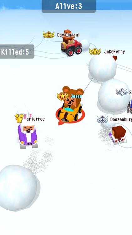 SnowBumper.io - go kart frenzy screenshot-4