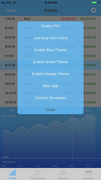 Money Forecast: CashFlow screenshot-8