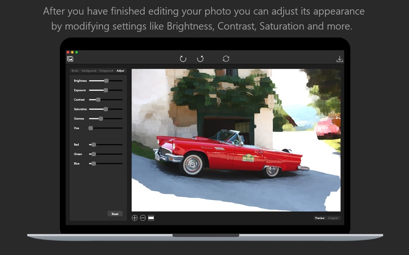 Color Ray - Photo Color & Blur for Mac