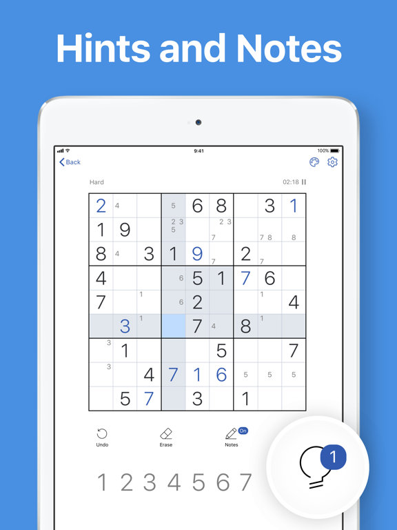 iPad Image of Sudoku.com - Puzzle Game