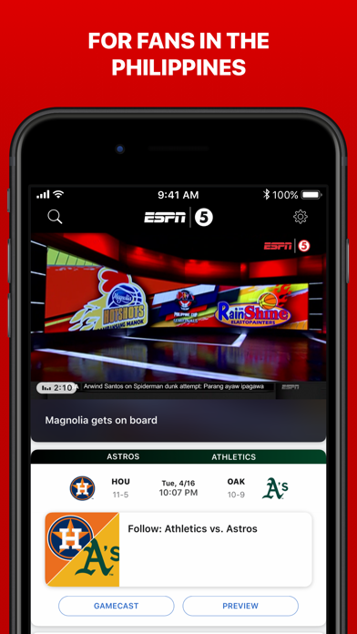 ESPN: Sports News & Highlights for pc