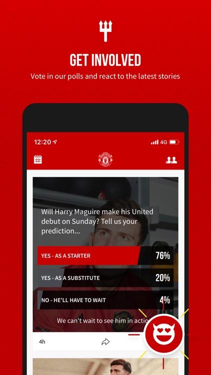 Manchester United Official App screenshot-3