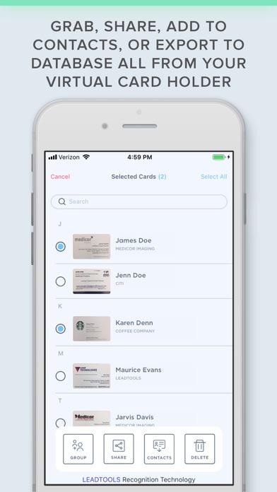 Business Card Scanner with OCRScreenshot of 2