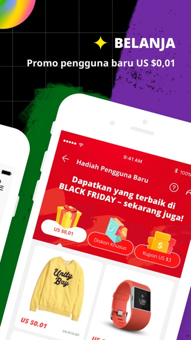Screenshot for AliExpress Shopping App in Indonesia App Store