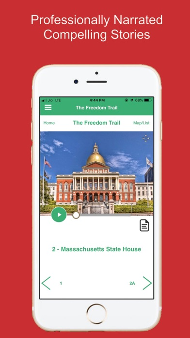 Freedom Trail Boston Guide Screenshot