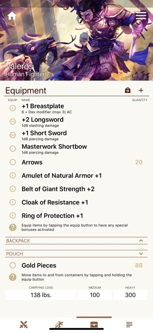 Fight Club PFRPG/3 5 Edition on the App Store