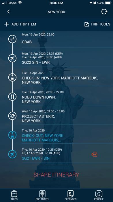 Traveller Buddy - Trip Planner screenshot two