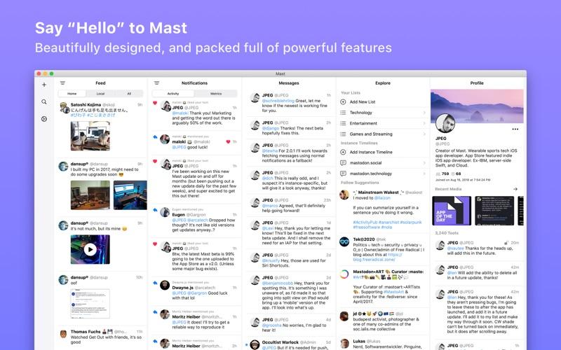 Mast for Mac