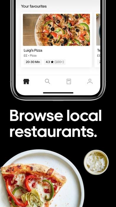 Screenshot for Uber Eats: Food Delivery in Belgium App Store