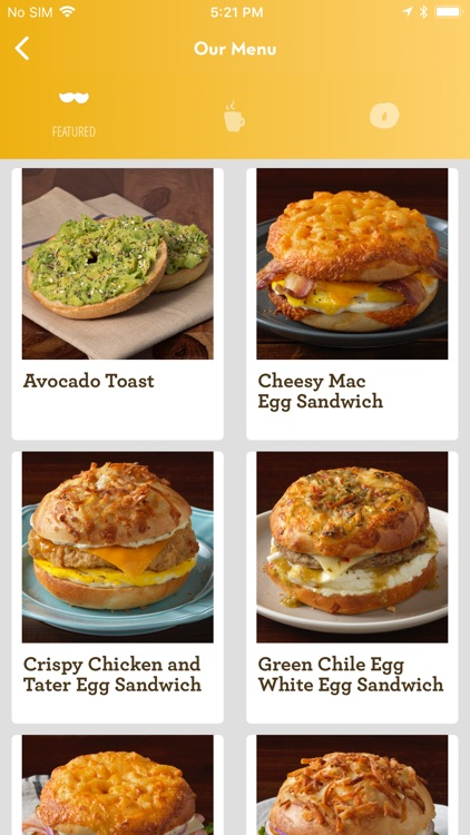 Einstein Bros Bagels screenshot-2