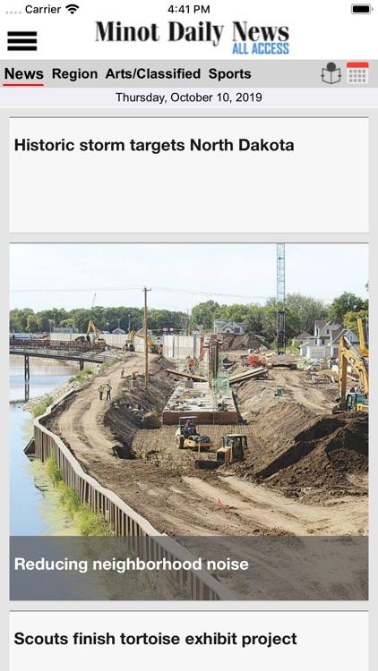 Minot Daily News All Access screenshot-5