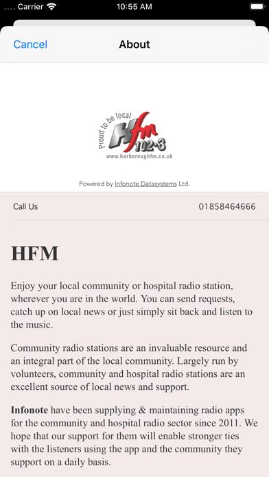 Harborough FM screenshot three