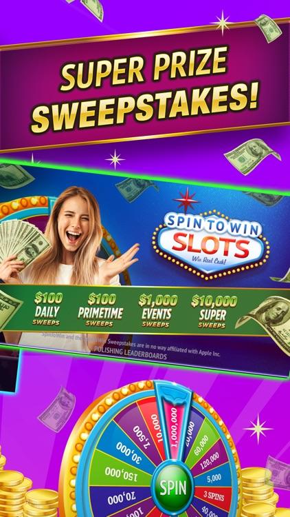 SpinToWin Slots & Sweepstakes screenshot-5