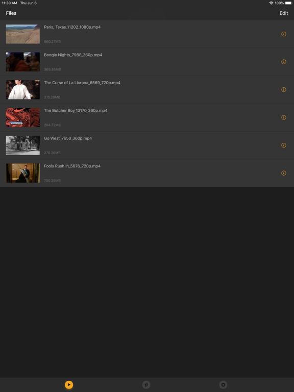 iPad Image of KFPanda Player