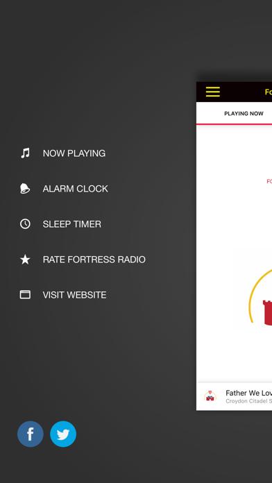 Fortress Radio Screenshot