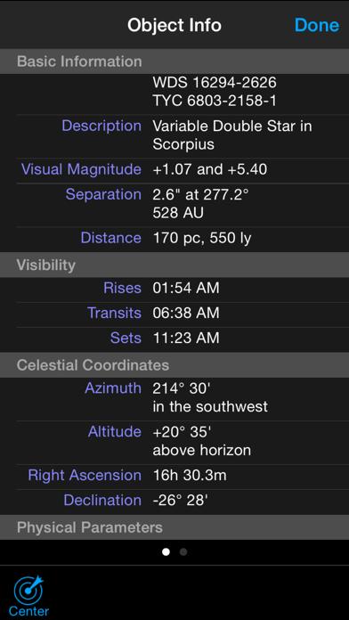 Screenshot #3 pour Celestron SkyPortal