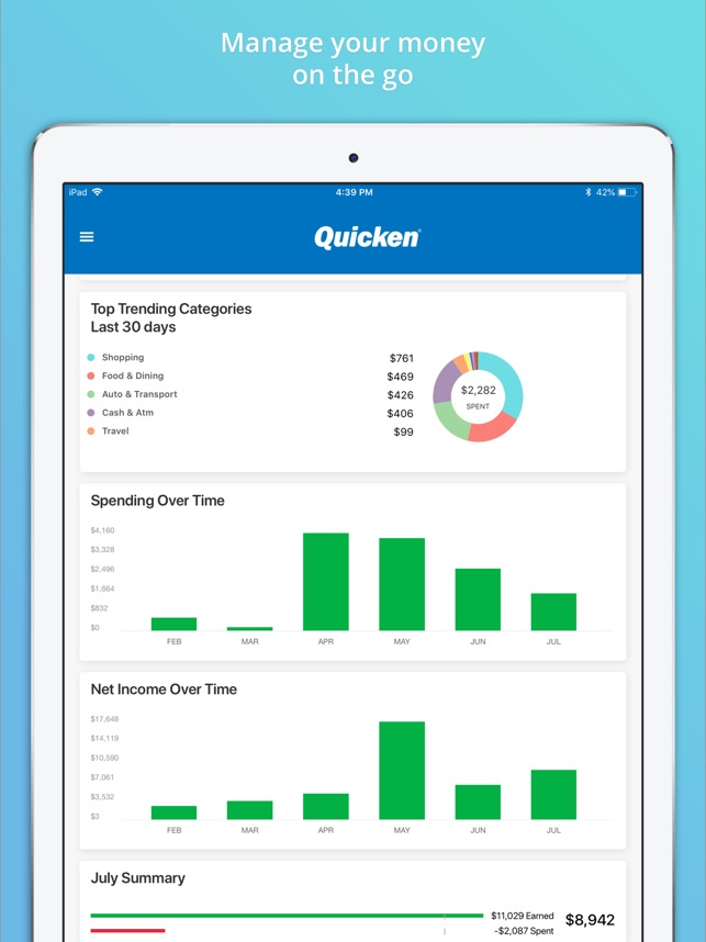 Quicken on the App Store